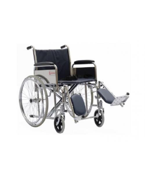 "GENEMAX Standard WheelChair-18"" Delux Folding Wheel Chair"